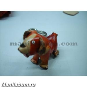 "Брелок ""K015 Собака коричневая"""