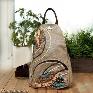 7401-1 Рюкзак льняной