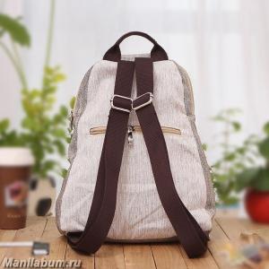 7406-1 Рюкзак льняной