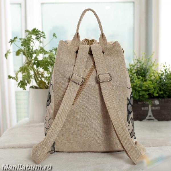 Льняные рюкзаки рюкзак для конца света