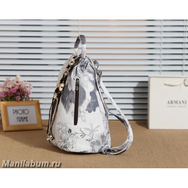 Льняной рюкзак империя сумок рюкзак женский