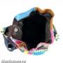 7210-2 Рюкзак лоскутный натуральная кожа