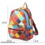 7203-1 Рюкзак лоскутный натуральная кожа
